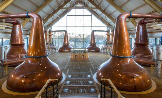 whisky distilleerderijen in Schotland